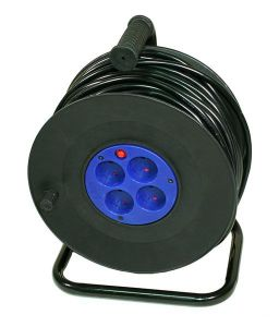 Удлинитель Logicpower LP spool катушка 50M 2*2.5mm2